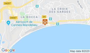Kaart Cannes Appartement 119499