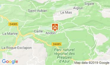 Kaart Grasse Vakantiehuis 118775