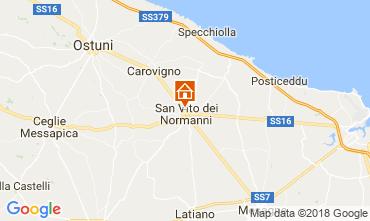 Kaart Ostuni Villa 95258