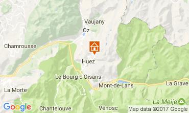 Kaart Alpe d'Huez Studio 82866