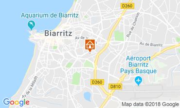 Kaart Biarritz Huis 83182