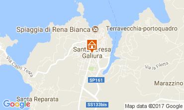 Kaart Santa Teresa di Gallura Appartement 60838
