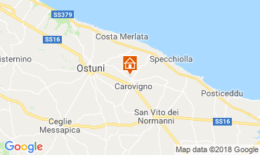 Kaart Ostuni Villa 63775