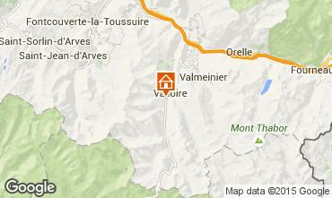Kaart Valloire Appartement 92317
