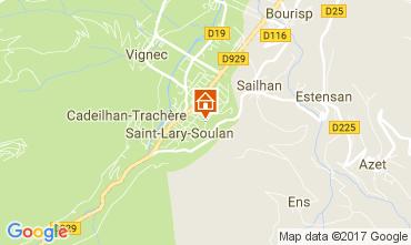 Kaart Saint Lary Soulan Appartement 112350