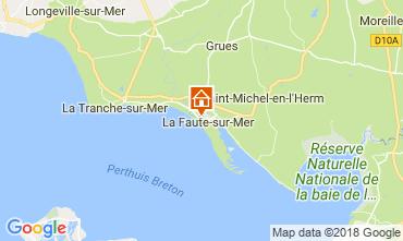 Kaart La Faute sur Mer Studio 114673