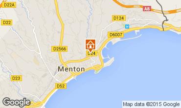 Kaart Menton Appartement 99643