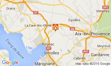 Kaart Marseille Villa 80278
