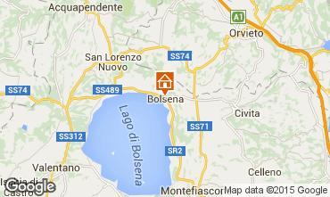 Kaart Bolsena Appartement 79320