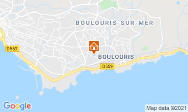 Kaart Saint Raphael Villa 73281
