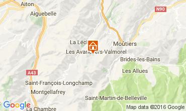 Kaart Valmorel Appartement 66547