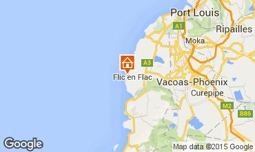 Kaart Flic-en-Flac Bungalow 69426