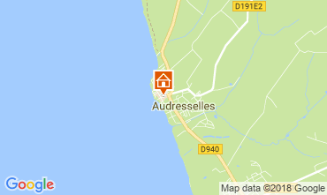 Kaart Audresselles Vakantiehuis 115601