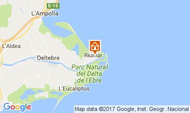 Kaart Deltebre Villa 109141
