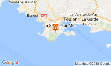 Kaart La Seyne sur Mer Huis 113602