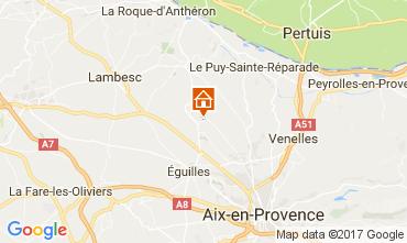 Kaart Aix en Provence Villa 109342