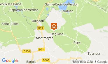 Kaart Régusse Huis 114148