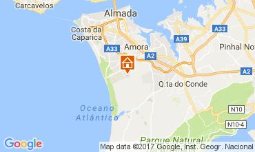 Kaart Lissabon Villa 78951