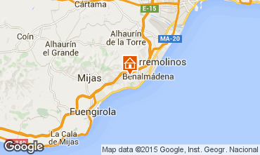Kaart  Benalm�dena Villa 9621