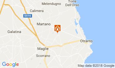 Kaart Otranto Bed & breakfast 115402