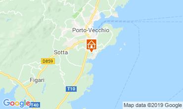 Kaart Porto Vecchio Appartement 119062