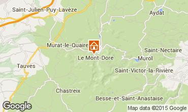 Kaart Le Mont Dore Appartement 50842