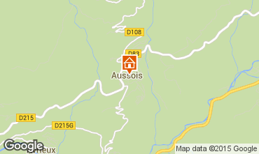 Kaart Aussois Appartement 390