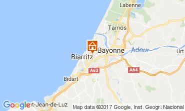 Kaart Biarritz Huis 88875