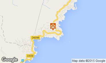 Kaart Théoule sur Mer Villa 78968