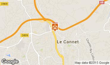 Kaart Cannes Appartement 5498