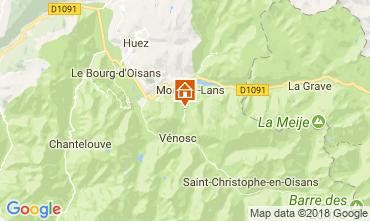 Kaart Les 2 Alpes Appartement 111828