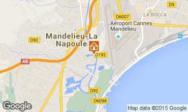 Kaart Mandelieu la Napoule Studio 40533