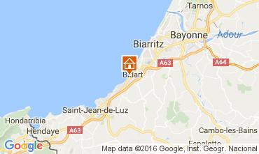 Kaart Biarritz Appartement 6432