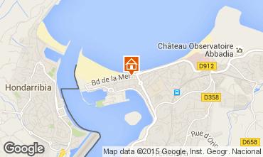 Kaart Hendaye Appartement 99522