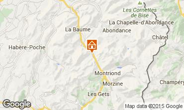 Kaart Morzine Chalet 39125