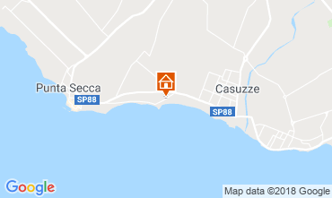 Kaart Marina di Ragusa Villa 116102