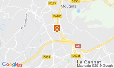 Kaart Mougins Villa 113759