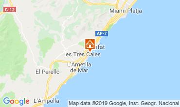 Kaart La Ametlla de Mar Villa 118540