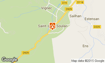 Kaart Saint Lary Soulan Studio 4436