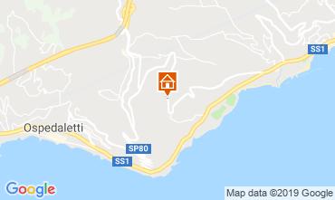 Kaart Sanremo Villa 117828