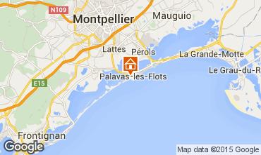 Kaart Palavas-les-Flots Huis 69792
