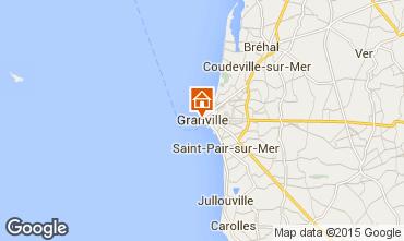 Kaart Granville Appartement 86892
