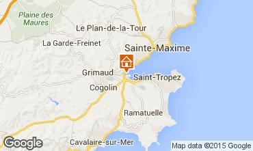Kaart Port Grimaud Huis 9087
