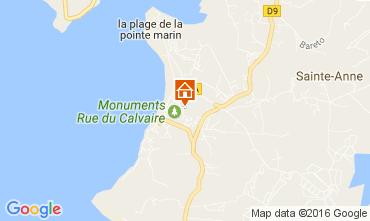 Kaart Sainte Anne (Martinique) Appartement 67787