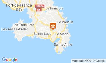 Kaart Sainte Luce Appartement 114516