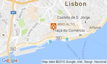 Kaart Lissabon Appartement 106237