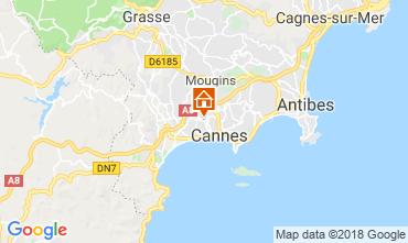 Kaart Cannes Appartement 68306
