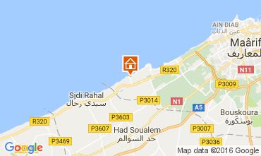 Kaart Casablanca Appartement 106856