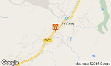 Kaart Les Gets Appartement 67586