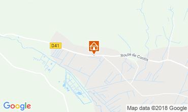 Kaart Saint-Julien-en-Born Stacaravan 116423
